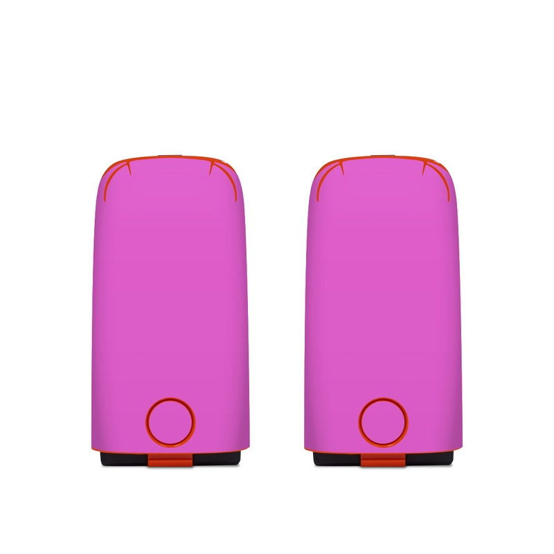 Autel EVO Battery Skin design of Violet, Pink, Purple, Red, Lilac, Magenta, Blue, Lavender, Text, Sky with pink colors