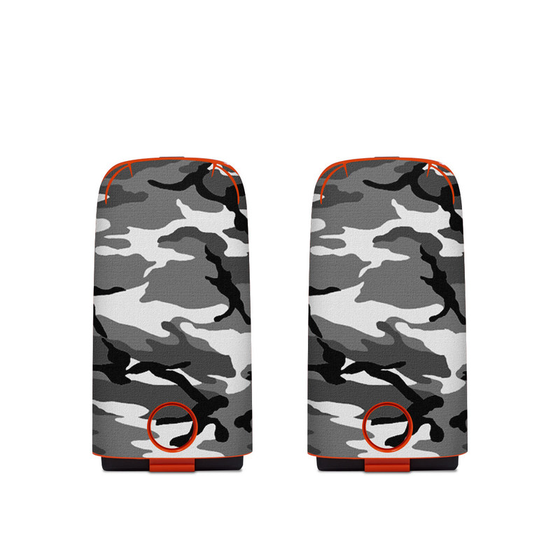 Autel EVO Battery Skin design of Military camouflage, Pattern, Clothing, Camouflage, Uniform, Design, Textile with black, gray colors