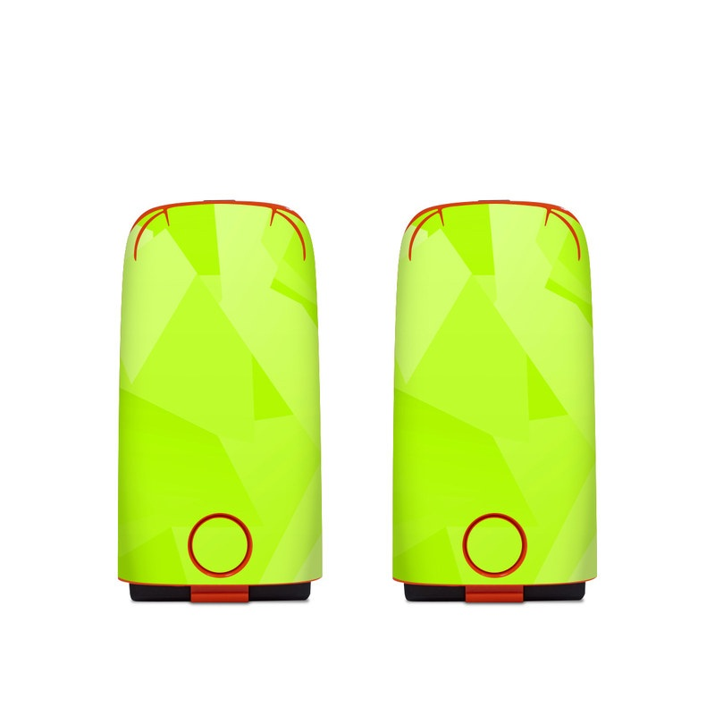 Autel EVO Battery Skin design with green colors