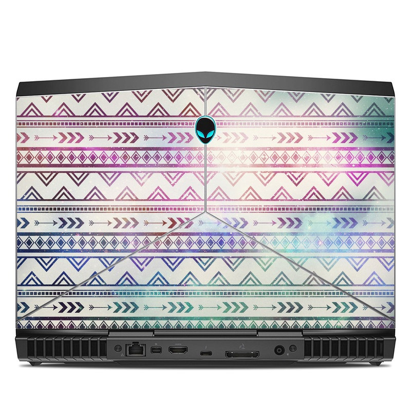 Alienware 13 R3 Skin design of Pattern, Line, Teal, Design, Textile with gray, pink, yellow, blue, black, purple colors