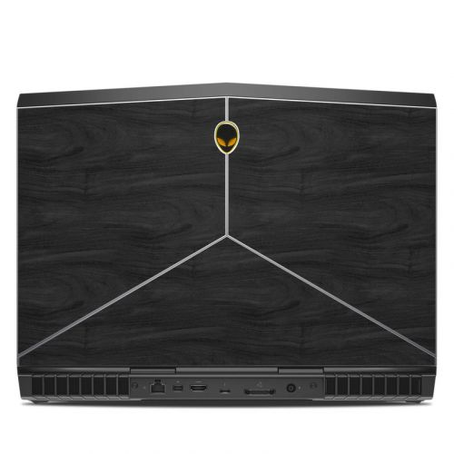 Black Woodgrain Alienware 15 R3 Skin