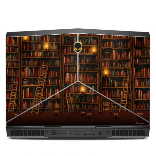 Library Alienware 15 R3 Skin