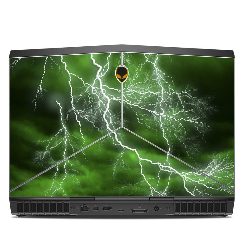 Apocalypse Green Alienware 15 R3 Skin