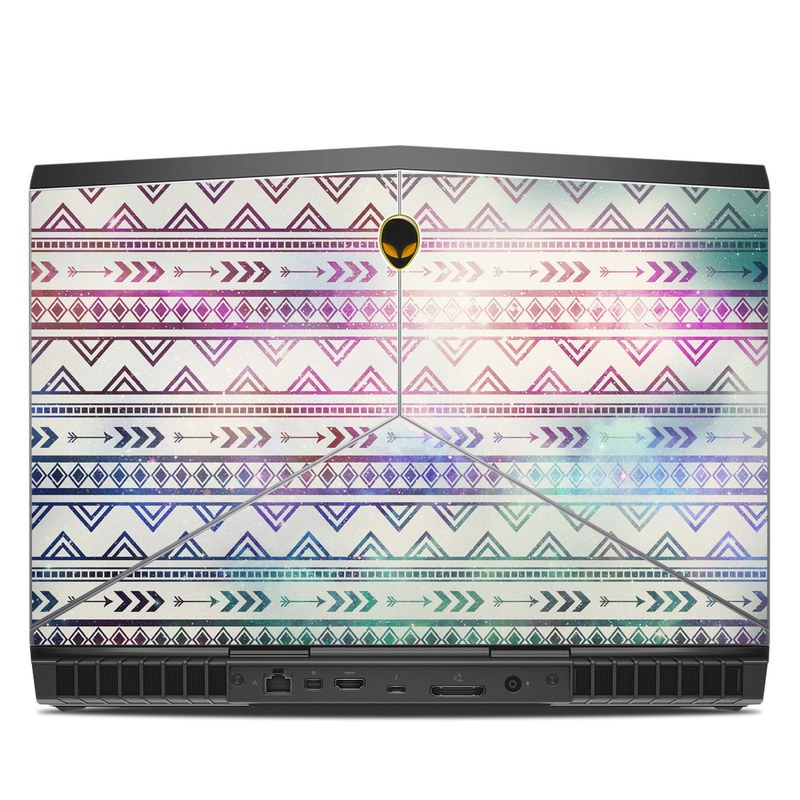 Alienware 15 R3 Skin design of Pattern, Line, Teal, Design, Textile with gray, pink, yellow, blue, black, purple colors