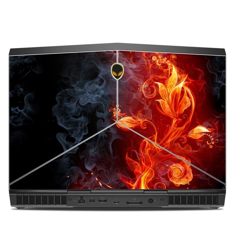 Flower Of Fire Alienware 15 R3 Skin