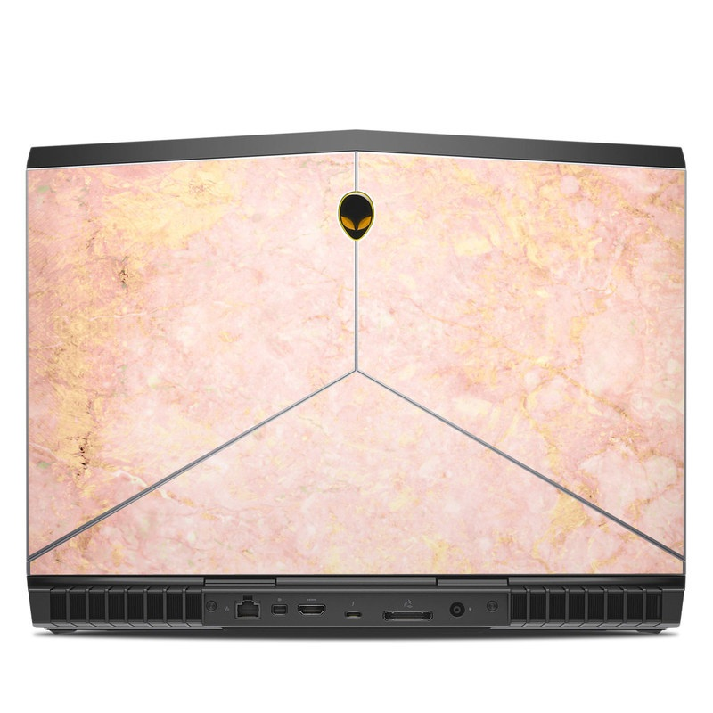 Alienware 15 R3 Skin design of Pink, Peach, Wallpaper, Pattern with pink, yellow, orange colors
