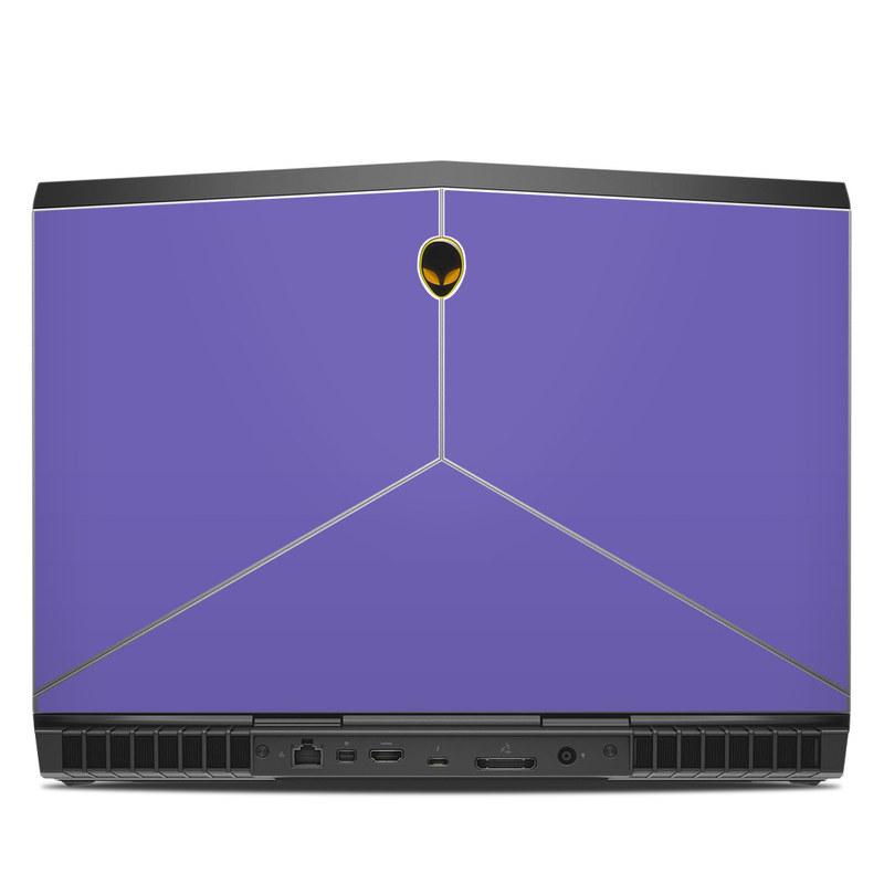 Alienware 15 R3 Skin design of Blue, Violet, Sky, Purple, Daytime, Black, Lilac, Cobalt blue, Pink, Azure with purple colors