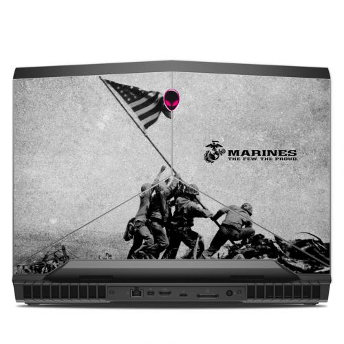 Flag Raise Alienware 17 R4 Skin