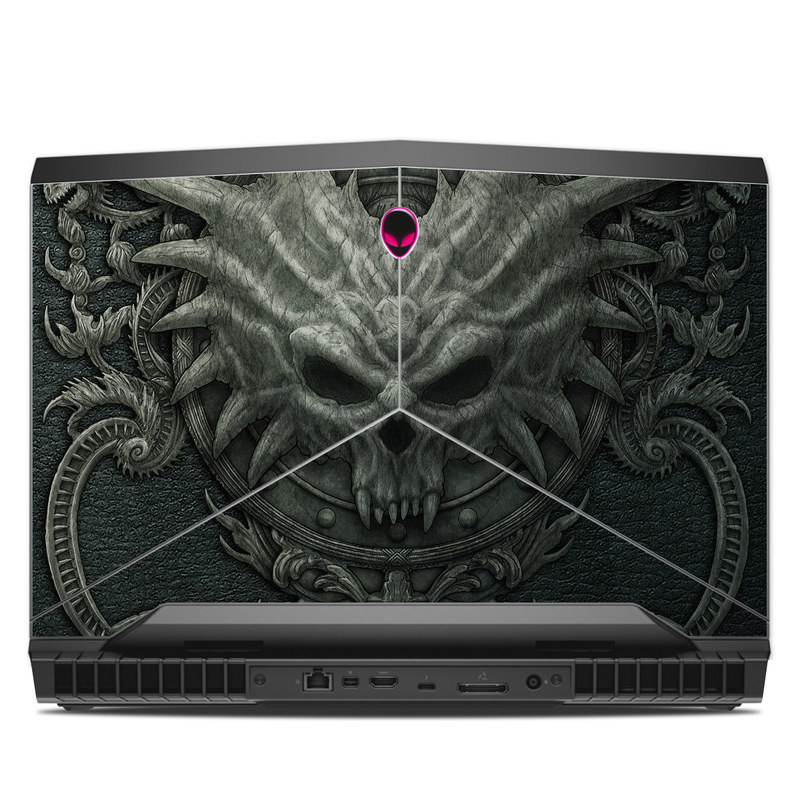 Black Book Alienware 17 R4 Skin