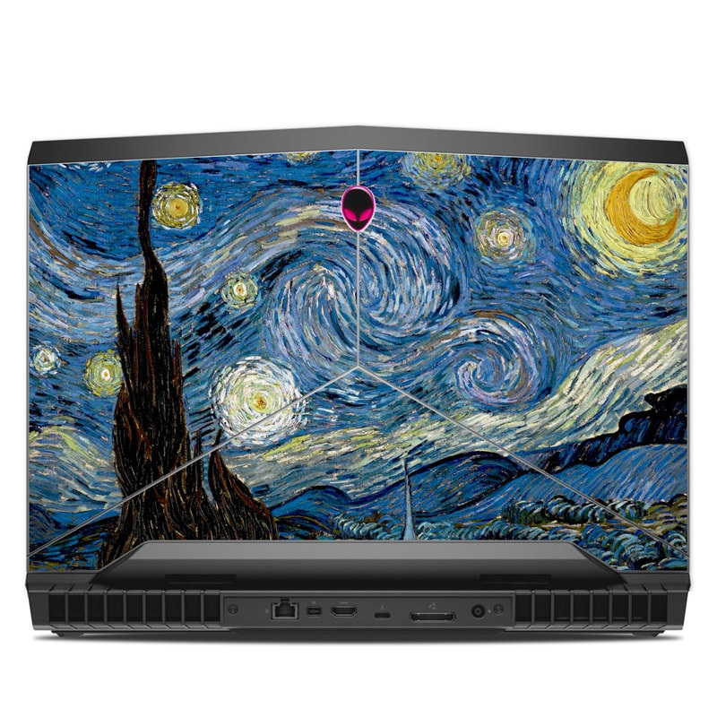 Starry Night Alienware 17 R4 Skin