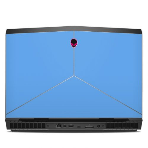Solid State Blue Alienware 17 R5 Skin
