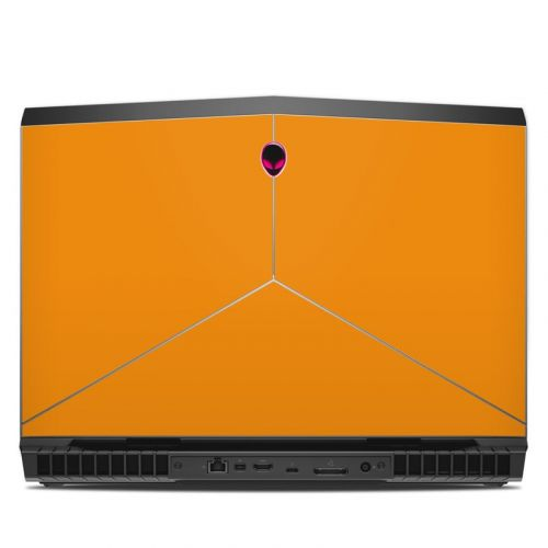 Solid State Orange Alienware 17 R5 Skin