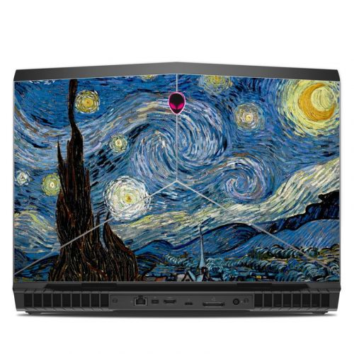 Starry Night Alienware 17 R5 Skin