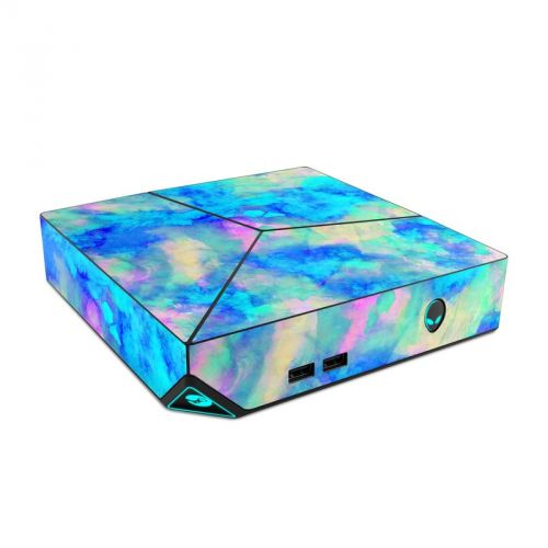 Electrify Ice Blue Alienware Steam Machine Skin