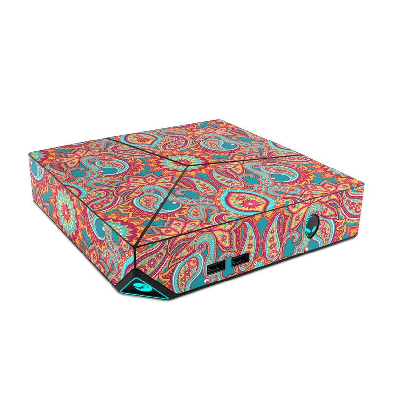 Carnival Paisley Alienware Steam Machine Skin
