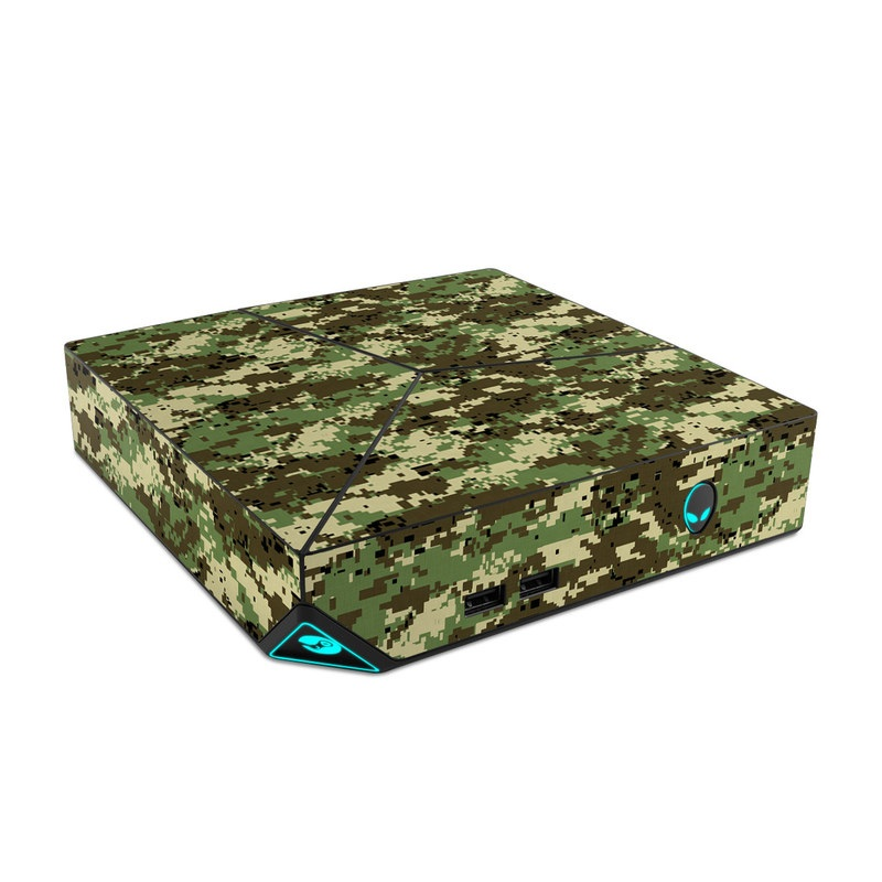 Alienware Steam Machine Skin design of Military camouflage, Pattern, Camouflage, Green, Uniform, Clothing, Design, Military uniform with black, gray, green colors
