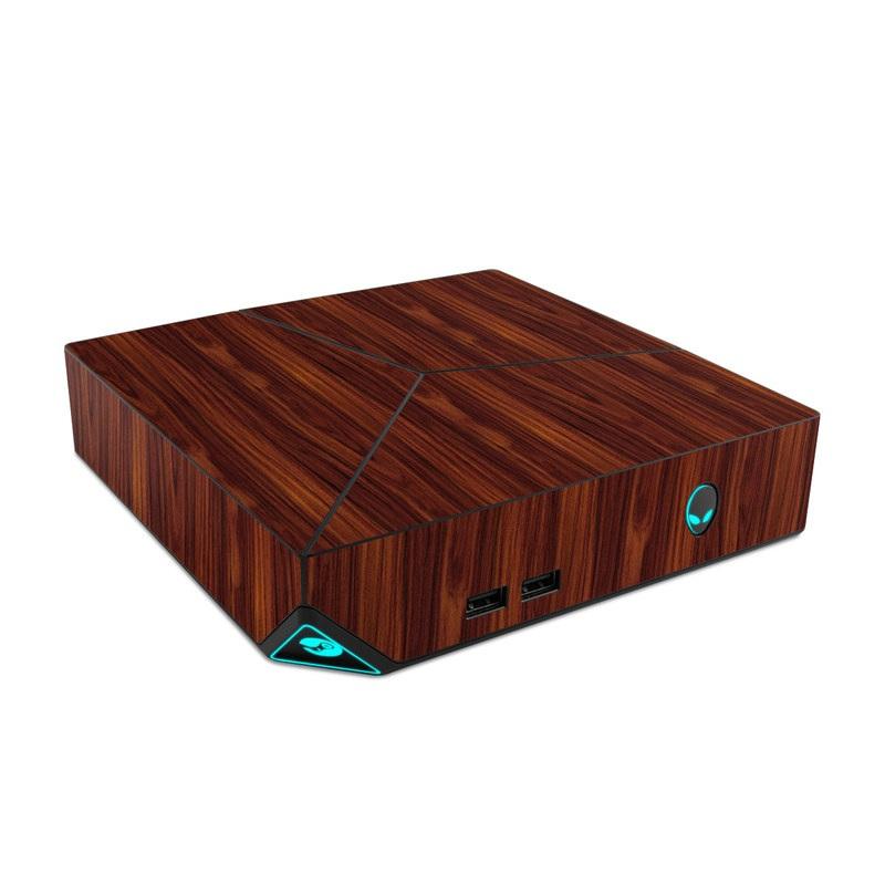 Alienware Steam Machine Skin design of Wood, Red, Brown, Hardwood, Wood flooring, Wood stain, Caramel color, Laminate flooring, Flooring, Varnish with black, red colors