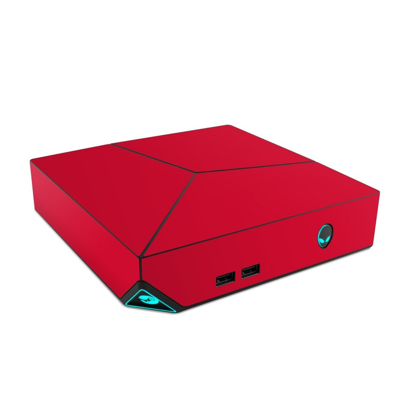 Solid State Red Alienware Steam Machine Skin