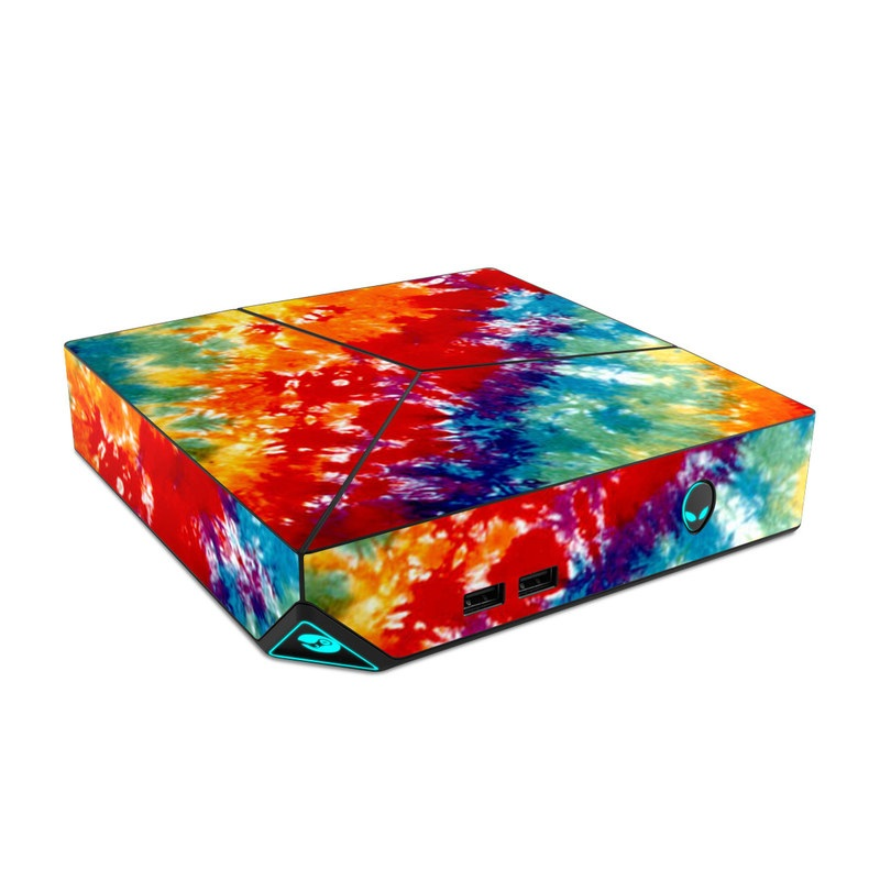 Tie Dyed Alienware Steam Machine Skin