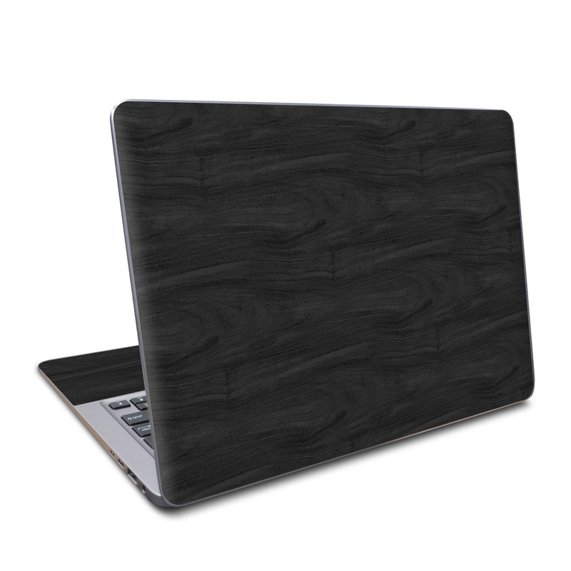 Asus ZenBook UX330UA Skin design of Black, Brown, Wood, Grey, Flooring, Floor, Laminate flooring, Wood flooring with black colors