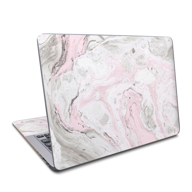 Asus ZenBook UX330UA Skin design of White, Pink, Pattern, Illustration with pink, gray, white colors
