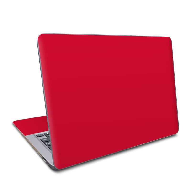 Solid State Red Asus ZenBook UX330UA Skin