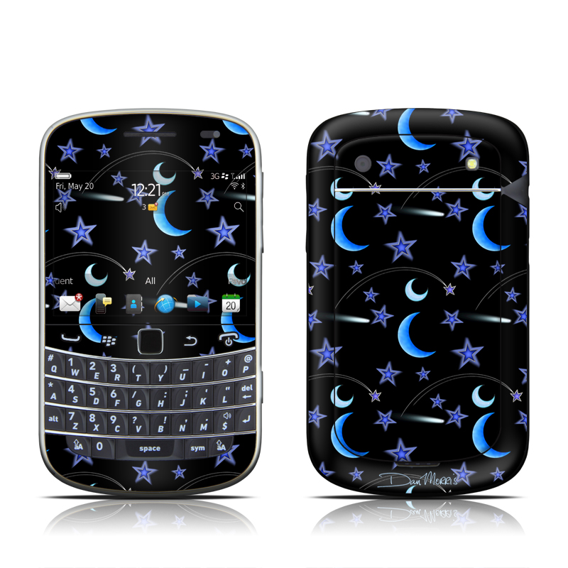 Crescent Moons BlackBerry Bold 9900, 9930 Skin