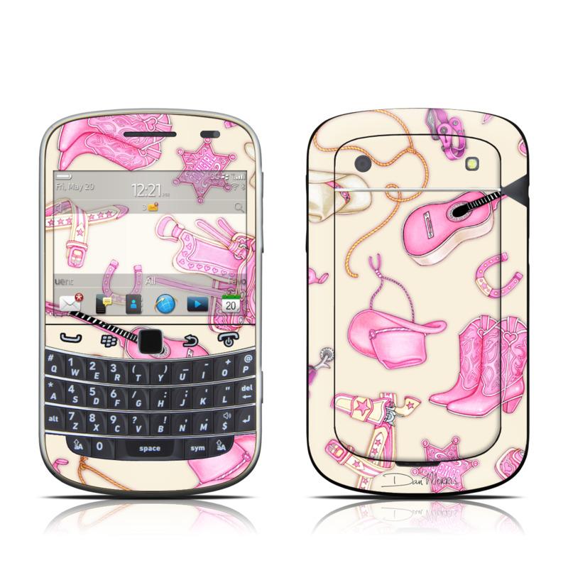 Cowgirl BlackBerry Bold 9900, 9930 Skin