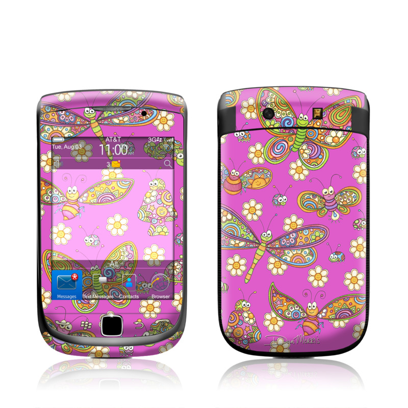 Buggy Sunbrights BlackBerry Torch 9800 Skin