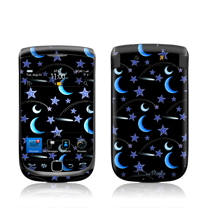 Crescent Moons BlackBerry Torch 9800 Skin