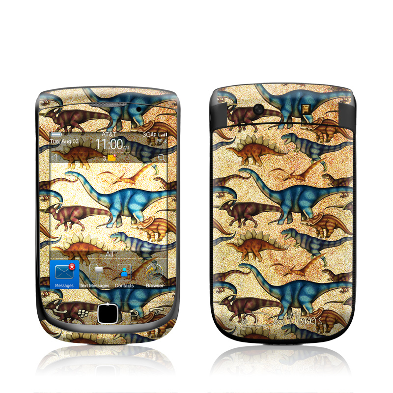 Dinos BlackBerry Torch 9800 Skin