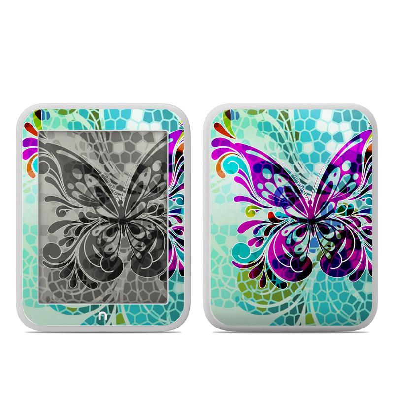 Butterfly Glass Barnes & Noble NOOK GlowLight Skin