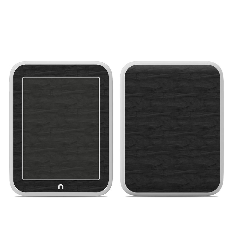 Black Woodgrain Barnes & Noble NOOK GlowLight Skin