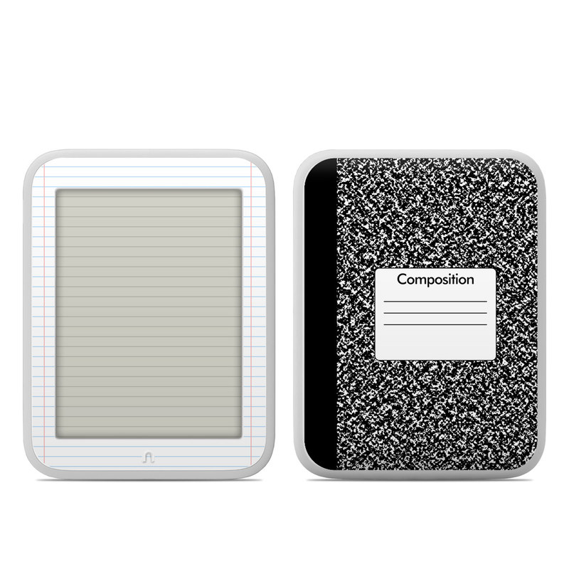 Composition Notebook Barnes & Noble NOOK GlowLight Skin