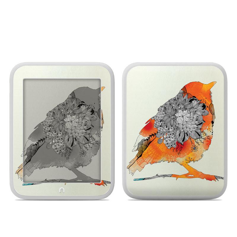Orange Bird Barnes & Noble NOOK GlowLight Skin