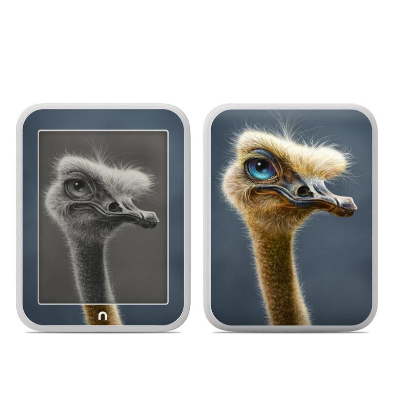 Ostrich Totem Barnes & Noble NOOK GlowLight Skin