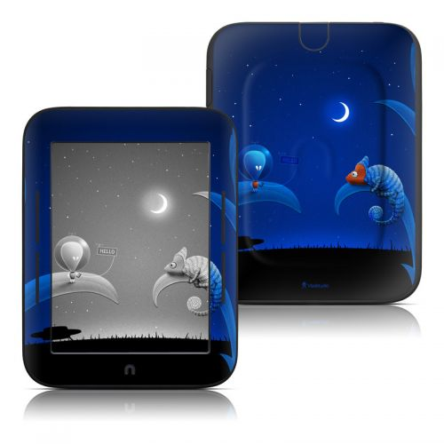 Alien and Chameleon Barnes & Noble NOOK Simple Touch Skin