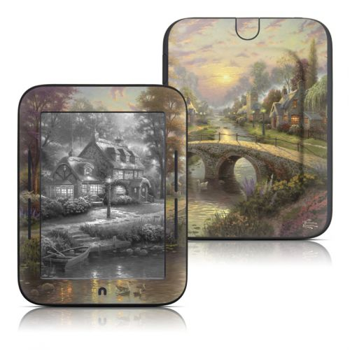 Sunset On Lamplight Lane Barnes & Noble NOOK Simple Touch Skin