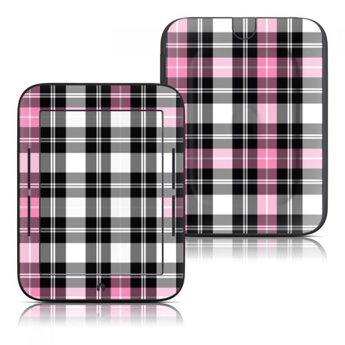 Pink Plaid Barnes & Noble NOOK Simple Touch Skin