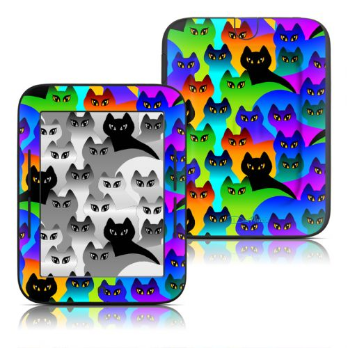 Rainbow Cats Barnes & Noble NOOK Simple Touch Skin