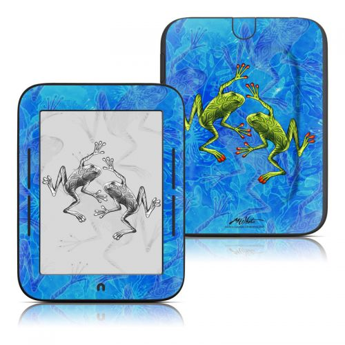 Tiger Frogs Barnes & Noble NOOK Simple Touch Skin