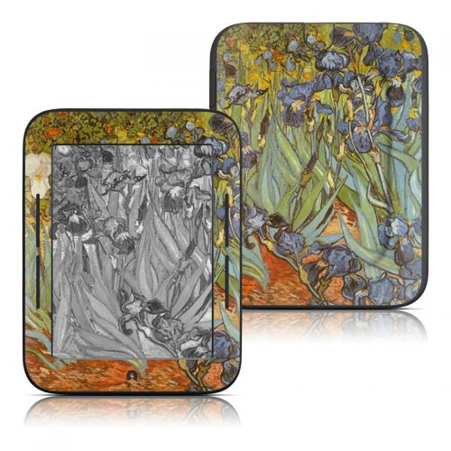Irises Barnes & Noble NOOK Simple Touch Skin