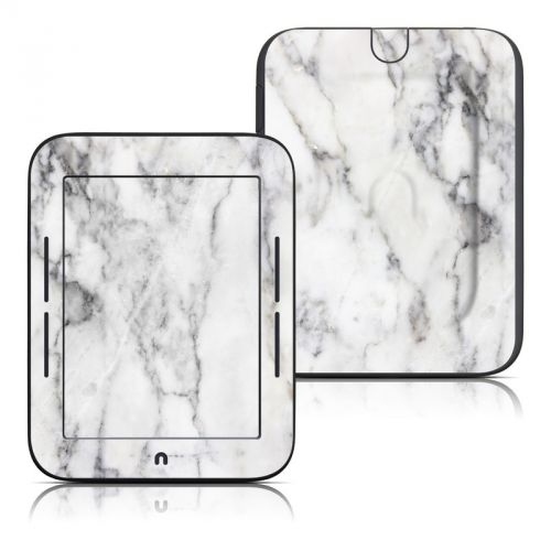 White Marble Barnes & Noble NOOK Simple Touch Skin