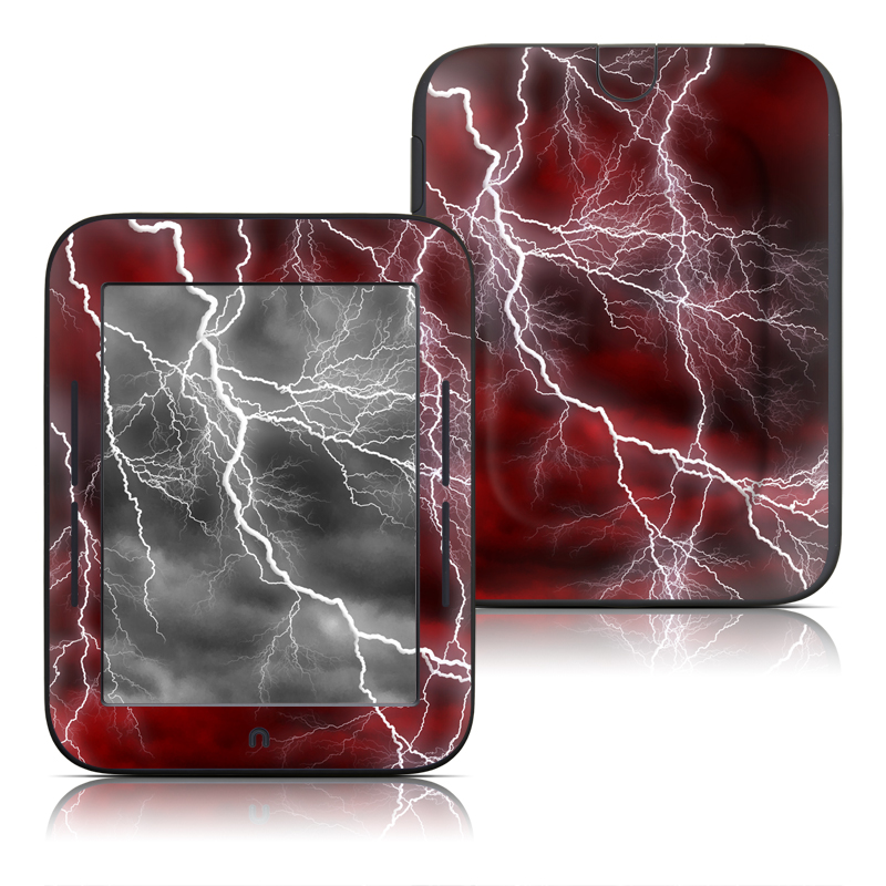 Apocalypse Red Barnes & Noble NOOK Simple Touch Skin
