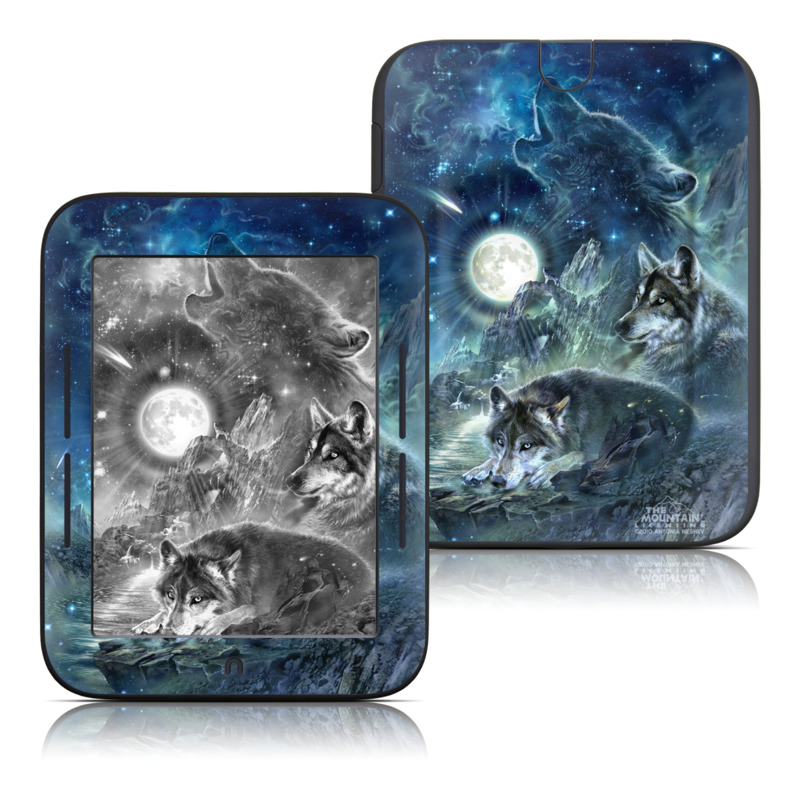 Bark At The Moon Barnes & Noble NOOK Simple Touch Skin