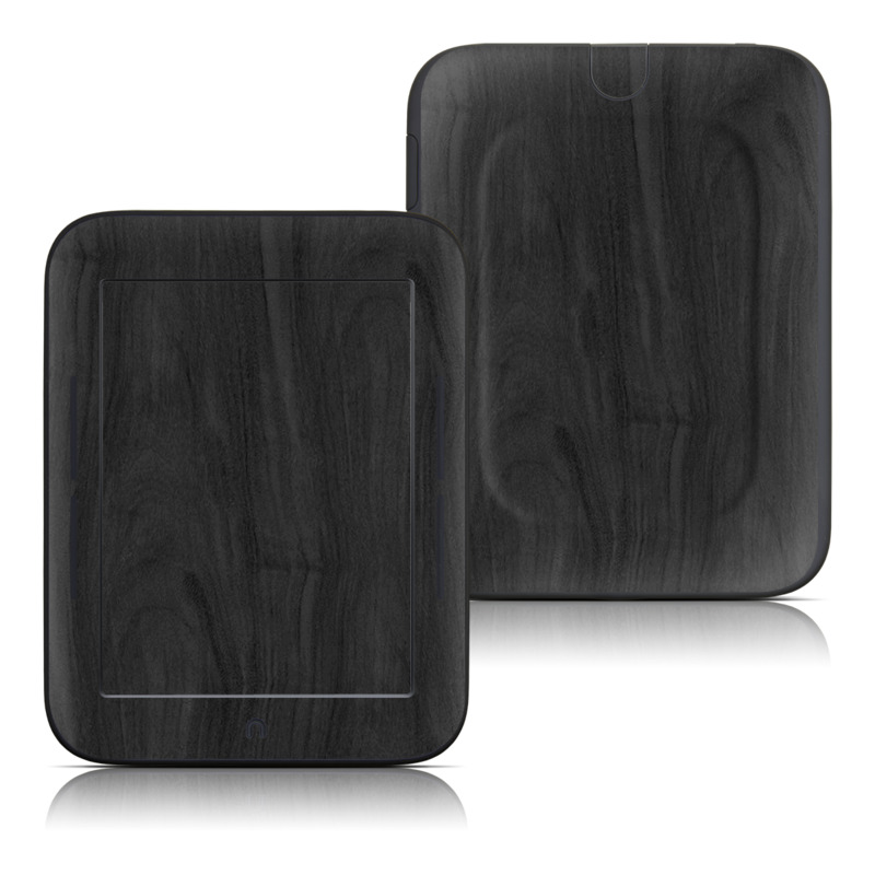 Barnes & Noble NOOK Simple Touch Skin design of Black, Brown, Wood, Grey, Flooring, Floor, Laminate flooring, Wood flooring with black colors