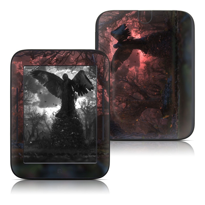 Black Angel Barnes & Noble NOOK Simple Touch Skin
