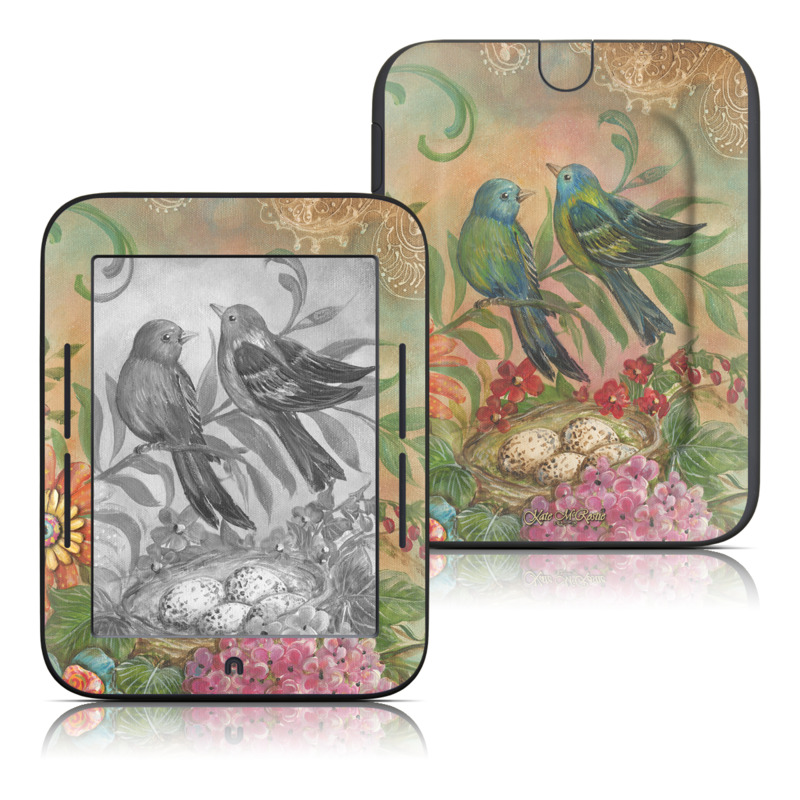 Splendid Botanical Barnes & Noble NOOK Simple Touch Skin