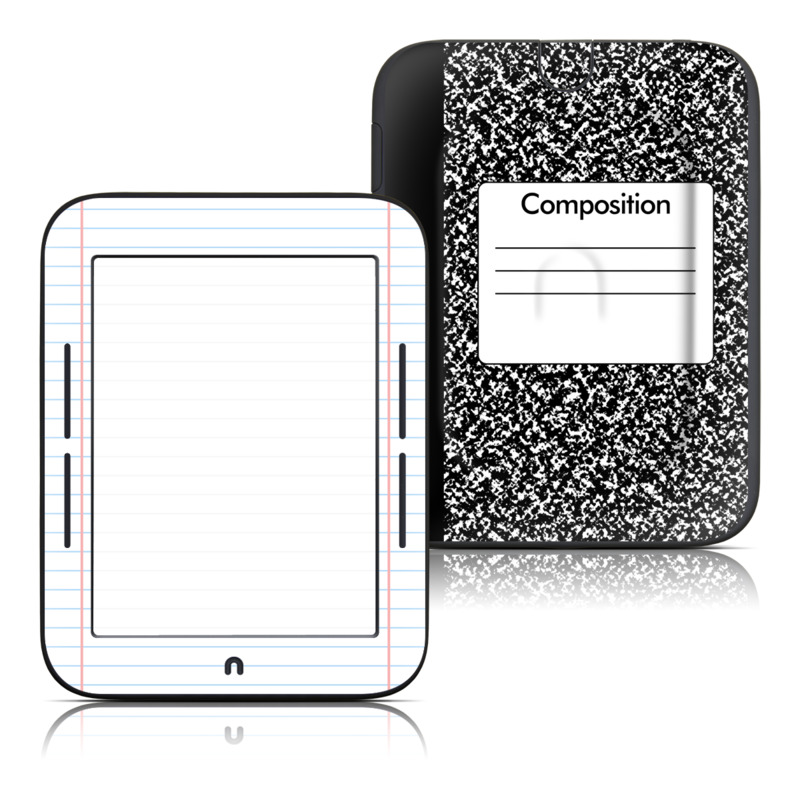 Composition Notebook Barnes & Noble NOOK Simple Touch Skin