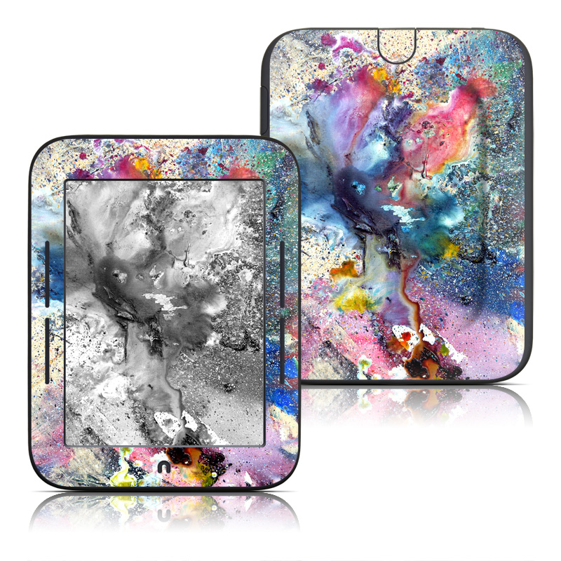 Cosmic Flower Barnes & Noble NOOK Simple Touch Skin